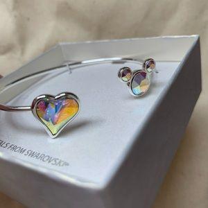NWOT Swarovski Crystal Disney Bracelet 🌟